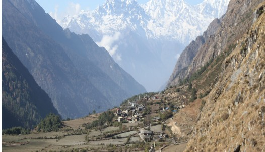 trekking in sacred tsum valley nepal