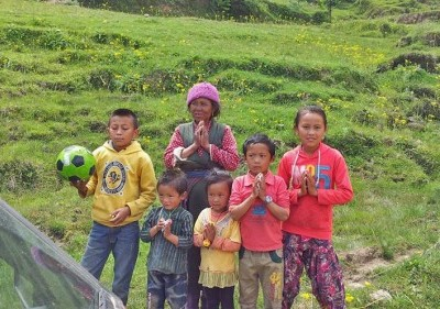 yolung rebuilding nepal